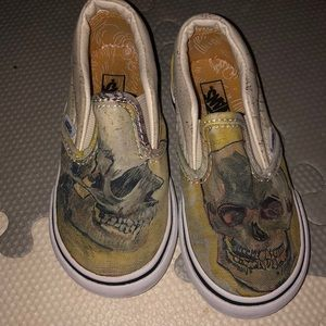 Toddler Unisex Van Gogh Museum X Vans Slip-on